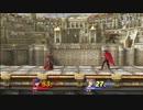 【スマブラWiiU】 対戦動画6 アイク(ふれあ) vs ゼルダ(メソ)