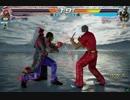 (プレイ)鉄拳7  シャヒーン  ランクマやるぜ  2-2