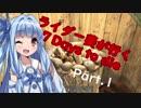【7 Days To Die】 ライダー葵が行く7days to die (Part.1)
