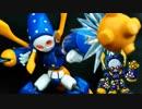 【メダ3カミキリver.】パテとヤスリと月面パンチ【実況+模型】#1