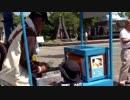 """NAGASAKI 平和公園で""""チリンチリンアイス""""を食べるあい!"""