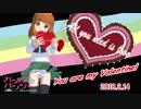 【MMD】 ガルパンの武部沙織が7回変身する動画 【バレンタイン記念作品】