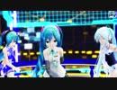 【MMD】Lat式ミクさん3人(V3・793・ジュリアナ)で「Scapeco...