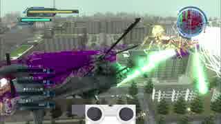【地球防衛軍5】M69 大いなる怪魔 INF ヘリ縛り【入力表示付き】