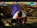 (プレイ)鉄拳7  パンダ  ランクマやるぜ  1-2