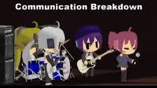 【重音テト】Communication Breakdown(LED ZEPPELINカバー)