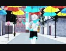 【undertaleAU MMD】☆summer rain☆blueberry【人類】