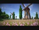 【Minecraft】のどかな景色