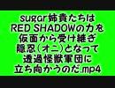 sugar姉貴たちはRED SHADOWの力を仮面から受け継ぎ、隠忍(オニ)となって透過怪獣軍団に立ち向かうのだ.mp4