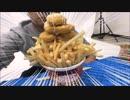 【無感情】カップヌードルポテナゲにガチのポテナゲ入れて最強にして食べてみたwww