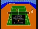 ファミコン●テニス(任天堂)●ニコ生ハイライト 初クリアの瞬間