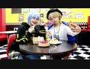 【A3!】三角と一成でちがう!!!踊ってみた【お絵描き対決】 thumbnail
