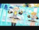 【MMD】おねがいダーリン【アカリ&ネル】【ぱんつ注意】