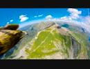 【衝撃映像】鷹の目線でアルプス山脈を飛行_540p60FPS【Gopro】