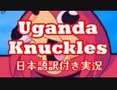 【Not_de_way】未知の狂気、ウガンダナックルズと遭遇!!【日本語訳付き実況】