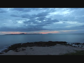 Time Lapse Video Of Sunset By The Sea 藤谷里志