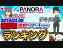 【第3回】週間VTuberランキング【司会:ときのそら】