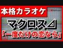 【フル歌詞付カラオケ】一度だけの恋なら(ワルキューレ)【マクロス⊿】【野田工房cover】