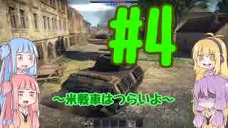 【WarThunder】ゆかりん達は戦車道をするようです #4