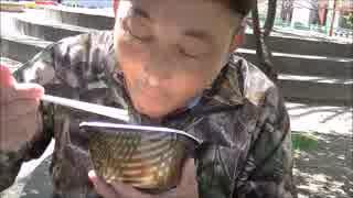 パンツマンの吉野家を食べる。