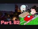 【茜と葵】遊園地を二人がのんびり作る:2日目【PlanetCoaster】