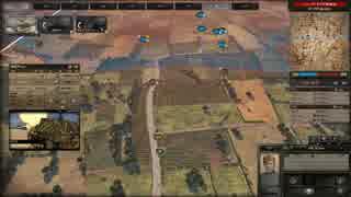 【Steel Division: Normandy 44】前線を突き進め!枢軸VS連合  前半 (単発動画)