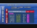 【巨大地震シミュレーション】《緊急地震速報→緊急警報放送》 静岡で震度6強 大津波警報