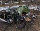【ゆる】80年前のバイクでキャンプツーリング【キャン△】part1