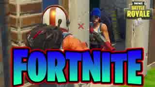 【フォートナイト】最強の強者は誰か!?4人チームで「FORTNITE Battle Royale」♯2