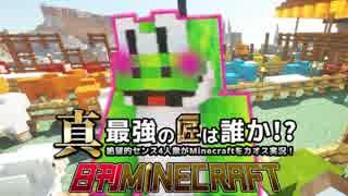 【日刊Minecraft】真・最強の匠は誰か!?絶望的センス4人衆がMinecraftをカオス実況第二十八話!