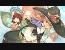 青空とホウキ娘と神社.AtelierShallie