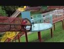 ★【蜻蛉池公園:こどもの国】カラフルなウッディスロープ(ロープ遊具)で遊ぶあい❤TONBOIKE PARK お出かけ★