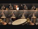 【和太鼓と篠笛で】艦これ2018冬イベED曲 月夜海(1chorus half mode)【叩いてみたの】