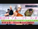 KOF14 ブルー・マリーコンボ KOFⅩⅣBlueMaryCombo The King of Fighters XIV