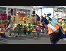 【鈴鹿サーキット】おかえり!ぶんぶんばち!「プッチハッチパーティー」に参加し、前でダンスをするあい♥お出かけ イベント 遊園地 キャラクター