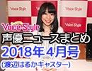 Voice-Style「声優ニュースまとめ」2018年4月号(キャスター:渡辺はるか)