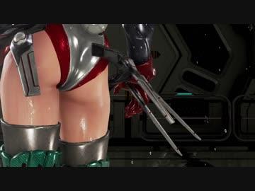Tekken 7 unlocking Showerhead, wet bodies of Alisa and Eliza
