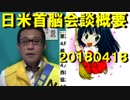 日米首脳会談概要/新潟県知事、武士の情けの使い方を間違ってる