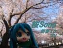 【初音ミク】桜Song【オリジナル】