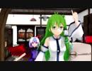 【東方MMD】朱鷺子の店番その5 早苗来店