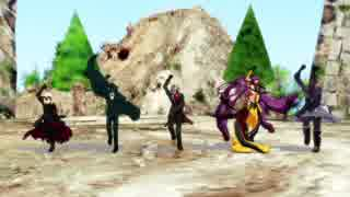 【Fate/MMD】復讐戦隊アヴェンジャー【FGO】
