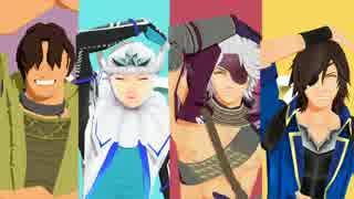 【MMD戦国BASARA】ダンスロボットダンス【MMD刀剣乱舞】