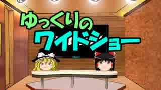 ゆっくりのワイドショー第23回放送
