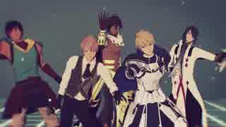 【Fate/MMD】蒼銀メンズで宵々古今