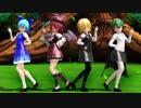 【東方MMD】バカルテットでスイートマジック【1080p/60fps】