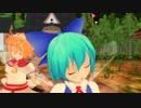 【東方MMD】オレンジ【チルノ&サニーミルク】【ぱんつ注意】