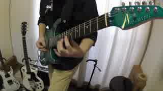 【画面】千本桜 ギター弾いてみた【ワンキョク】