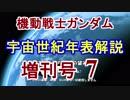 【機動戦士ガンダム】宇宙世紀年表解説 増刊号 【ゆっくり解説】part7