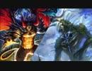 魔 神 と 森 神
