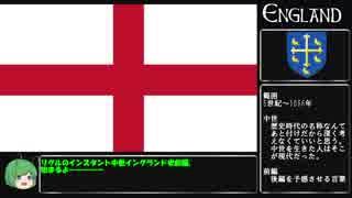 リグルのインスタント英国史【中世イングランド前編】